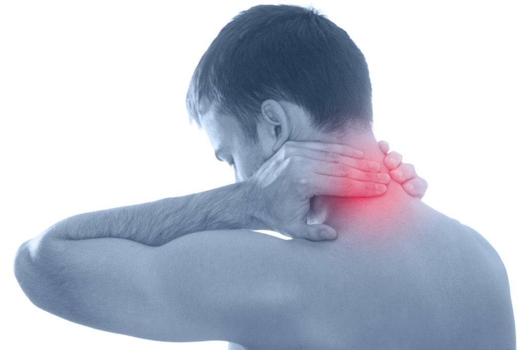 Healing neck pain